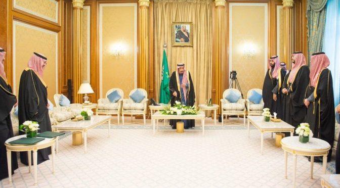Принцы и министры принесли присягу в присутствии наследного принца