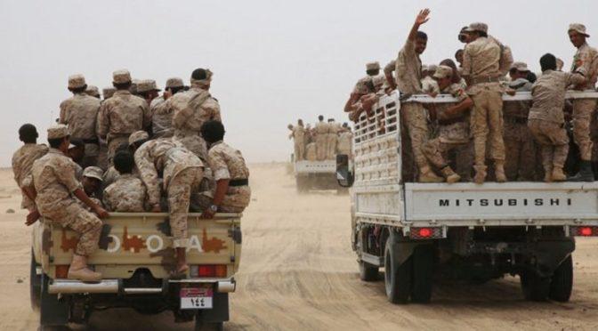 Армия Йемена освободила от хусиитов большие территории в провинции Худжа