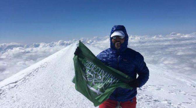 аш-Шайбани поднял знамя Королевства на массиве Винсона — высочайшей точке Антарктиды
