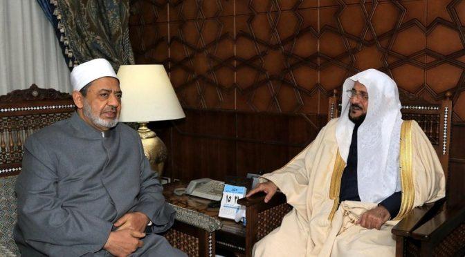 Министр по делам Ислама обсудил с шейхом аль-Азхар вопросы призыва