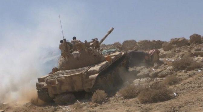 Армия Йемена начиинает широкомасштабную операцию в отношении последних позиций хусиитов в  Баким провинции Саада