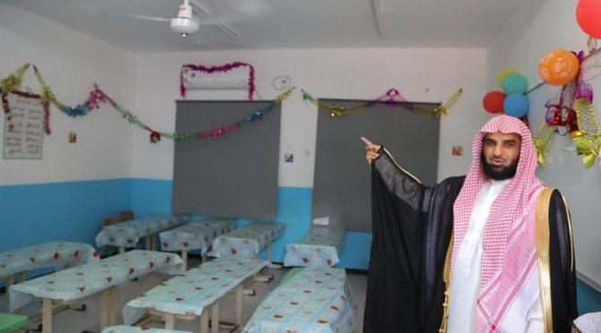 Шейх ас-Самил открывает учебные классы Центра им.Короля Абдулазиза в Джибути