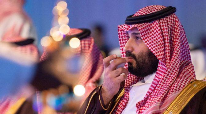 Его Высочество наследный принц принял группу  саудийской творческой интиллигенции