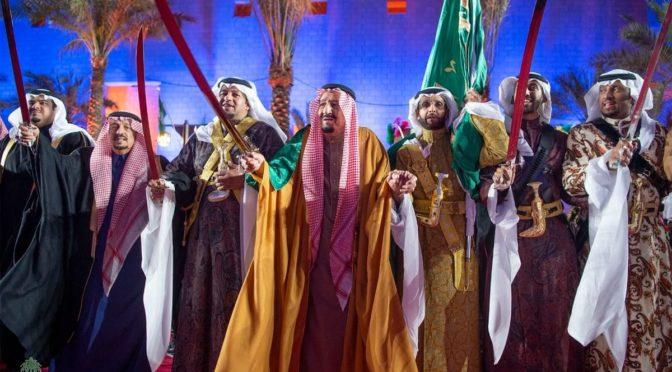 Король Салман открыл реализацию 1281 проектов бюджетом более 82 млрд.риалов