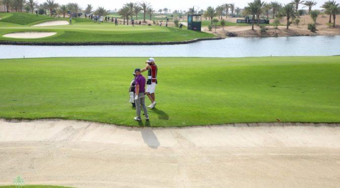 Международные соревнования по гольфу в Саудии