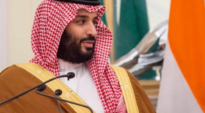 Наследный принц принял телефонный звонок от госсекретаря США