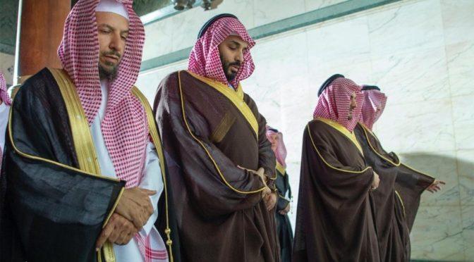 Наследный принц посетил Запретную Мечеть и ознакомился с проектами по расширение