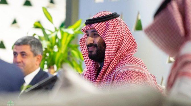 Наследный принц возглавил рабочее заседание, проводимое Советом по экономике и развитию