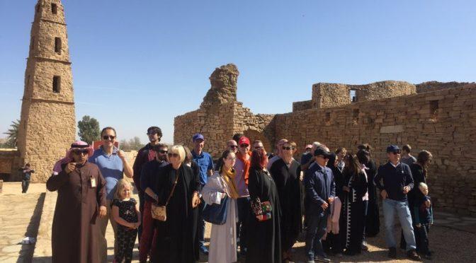 Ректор KAUST был поражён памятниками провинции Джуф