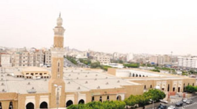 ал-Шейх направил ковры и охрану сил безопасности в мечеть Аббаса в Таифе