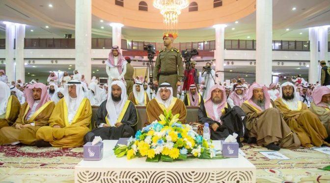 Губернатор провинции Касым посетил церемонию выпуска 115 хафизов и 35 преподавателей школы запоминания Корана в Бурайде