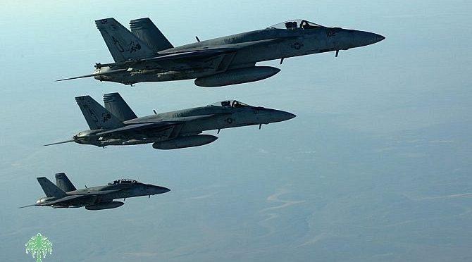 ПВО Саудии перехватили и уничтожили два БПЛА, двигавшихся в направлении Хамис Мушит