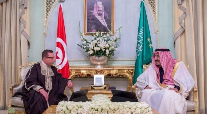 Служитель Двух Святынь принял спикера Ассамблеи народных представителей Туниса