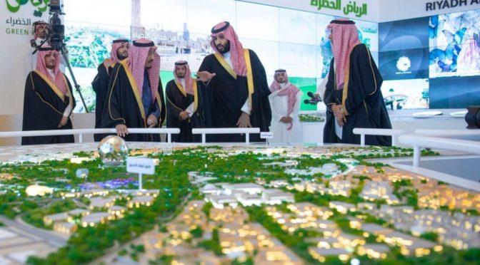 Король Салман запустил в Эр-Рияде 4 головных проекта бюджетом в 86 млрд.риалов