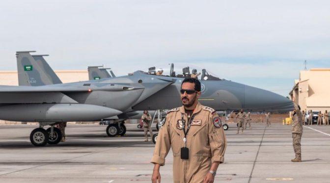 Завершилось прибытие сил ВВС, участвующих в совместных учениях «Красный флаг»: первое появление F-15SA