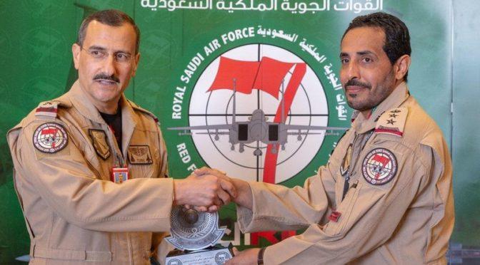 Турки бин Бандар инспектировал саудийские ВВС, участвующие в совместных учениях «Красный флаг»