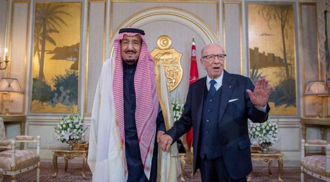 Служитель Двух Святынь и президент Туниса провели двустороннюю встречу и официальные переговоры