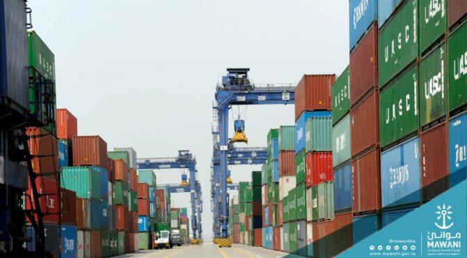 Порты Саудии: за февраль обработано 21 млн.тонн грузов