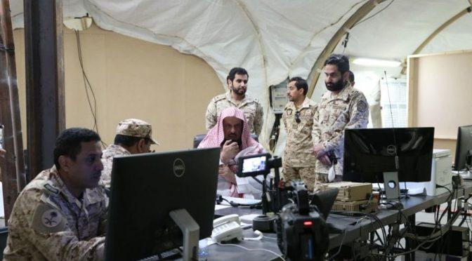 Доктор ас-Санад посетил солдат, дислоцированных на южной границе в провинции Наджран