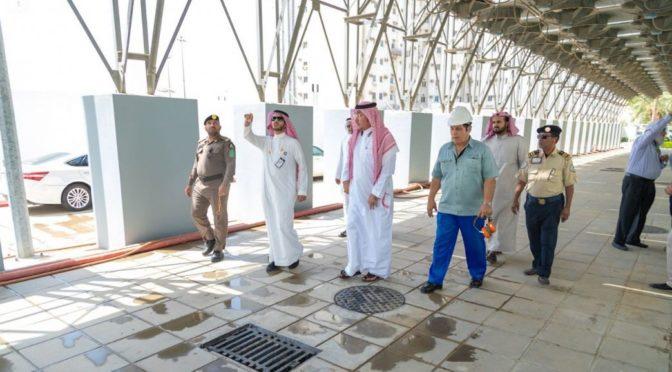 Комитет по делам Запретной Мечети осуществляет экспериментальное переключение электропитания Запретной мечети на питание от подстанции Кади
