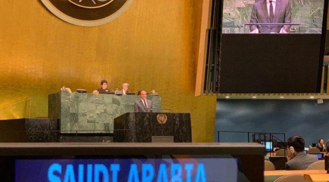 Королевство участвует в диалоговом заседании ООН по механизмам мониторинга ситуации в Сирии