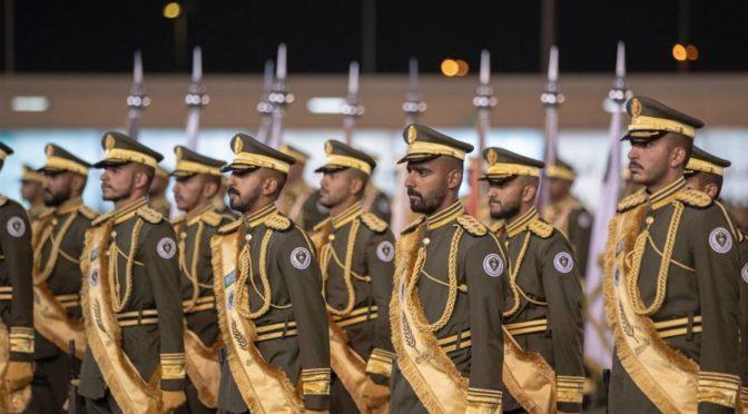 Его Высочество Министр внутренних дел посетил церемонию 1-ого выпуска спецназа сил безопасности и охраны