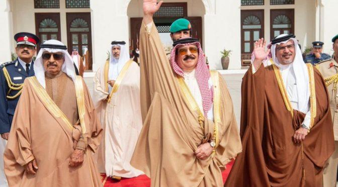 Служитель Двух Святынь покинул Королевство Бахрейн
