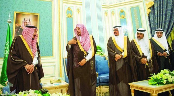 Служитель Двух Святынь принял ал-Шейх и членов Маджлис-Шура