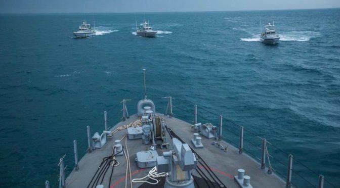 Спасение иранского нефтяного танкера поблизости от Исламского порта Джидды