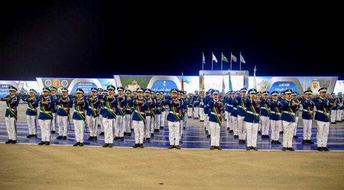 Его Высочество наследный принц посетил церемонию 96-ого выпуска курсантов колледжа ВВС им.Короля Фейсала