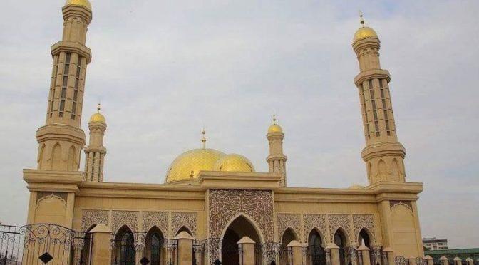 4 тысячи молящихся присутствовали на молитве таравих в крупнейшей мечети Кыргызстана