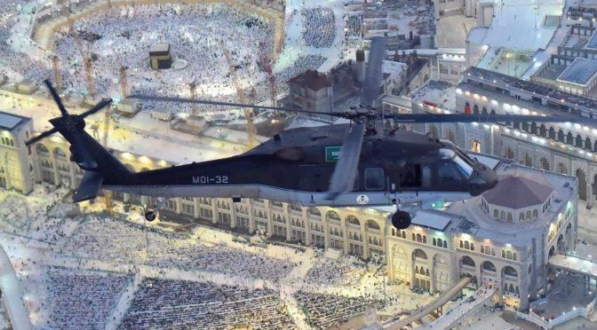 Авиация сил безопасности повышает готовность в последнюю декаду Рамадана