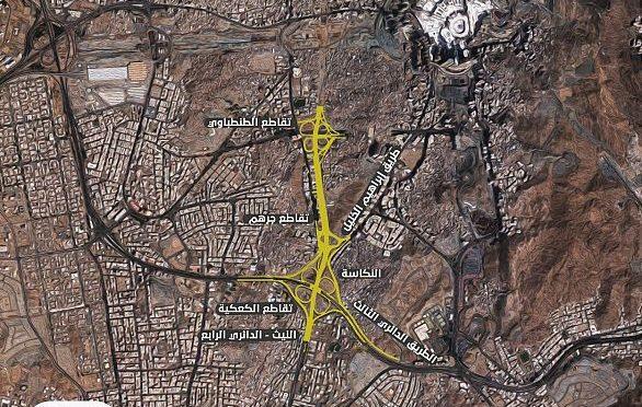 В Благородной Мекке открылась главная дорога от перекрёстка Каакия до перкрёстка Тандабави через улицу Джархам