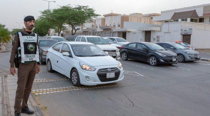 Новостное агентство Саудии запечатлело усилия сил безопасности провинции Касым во время месяца Рамадан