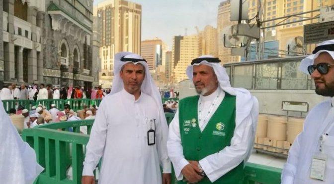 Начальник Центра общественного развития Благородной Мекки инспектировал ифтары, проводимые «Хадейят» для постящихся в Запретной Мечети