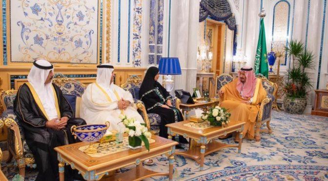 Служитель Двух Святынь принял председателя Федерального национального совета ОАЭ