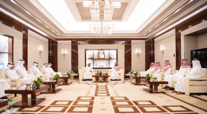 Наследный принц встретился с наследным принцем Дубая