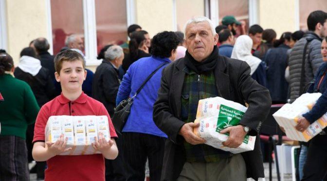 Центр  им.Короля Салмана  помогает нуждающимся в Йемене, Албании, Таджикистане и Бурунди