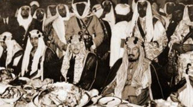 В памяти Саудии запечатлелась историческая встреча в Радва между Королём-основателем и Королём Фаруком