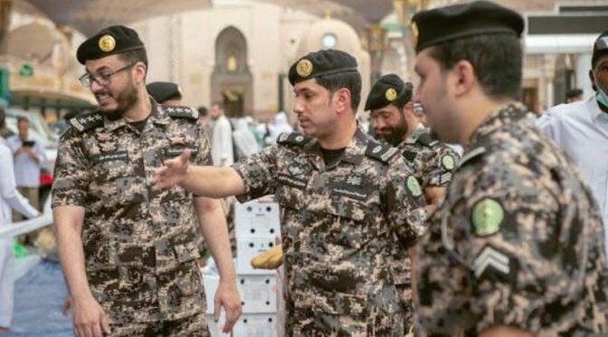 Силы безопасности охраны объектов проводит благотворительный ифтар от лица павших мученников в Мечети Пророка