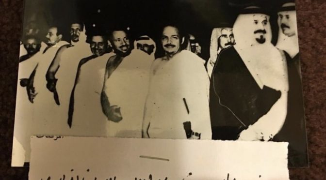 За подписью Султана, Наифа и Абдаллаха бин Абдулазиза: благодарственные письма к одному из командиров «очистки Запретной Мечети»