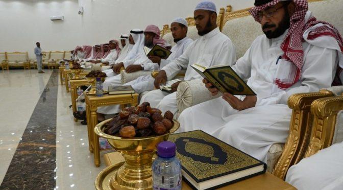 Ночь завершения прочтения Благородного Корана в аль-Хуфейре