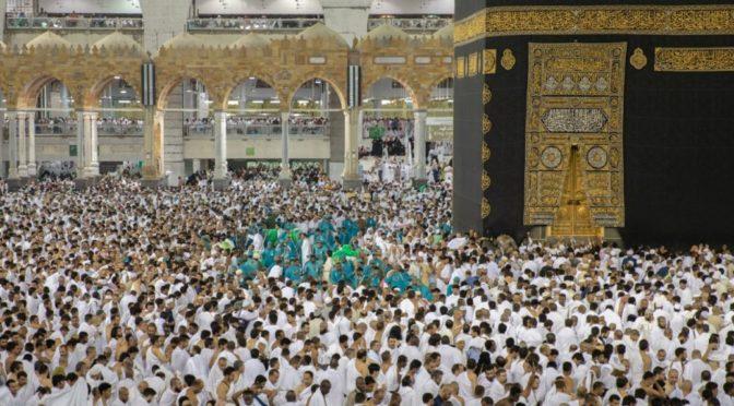9 минут: достаточное время для уборки места для тавафа Каабы в 27 ночь Рамадан