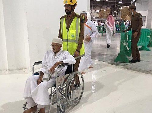 Гуманитарная работа отрудников Гражданской обороны Запретной мечети во время Благсловенного месяца Рамадан