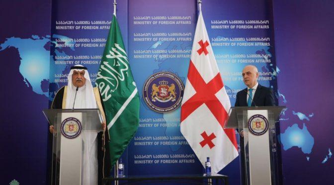 аль-Асиф встретился с министром иностранных дел Грузии и вице-спикером парламента Грузии