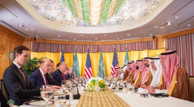 Наследный принц встретился с Д.Трампом на полях саммита G20