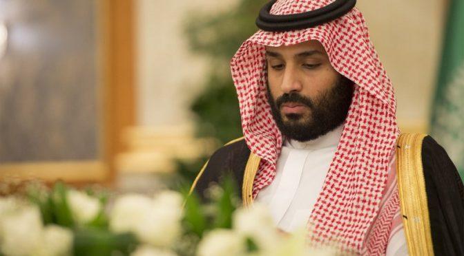 Наследный принц: Преступление Хашакджи очень болезненно, и любая сторона, стремящаяся эксплуатировать его, должна остановится и представить доказательства