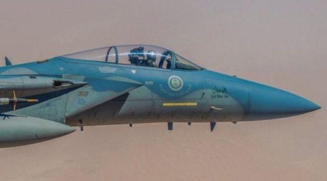 ВВС сил коалиции перехватили и сбили два вражеских БПЛА в небе Йемена