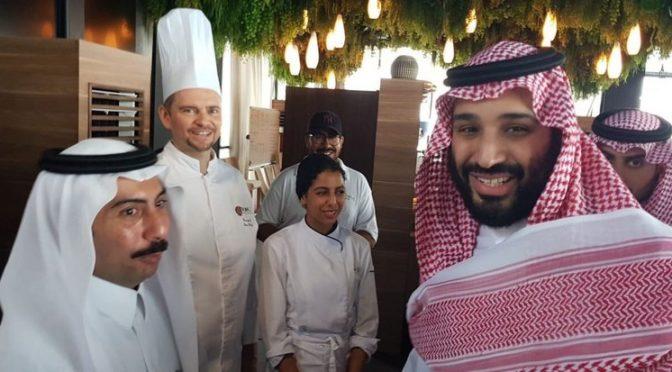Спонтанное фото рядом с наследным принцем: любовь и признательность в фотографиях на набережной Джидды