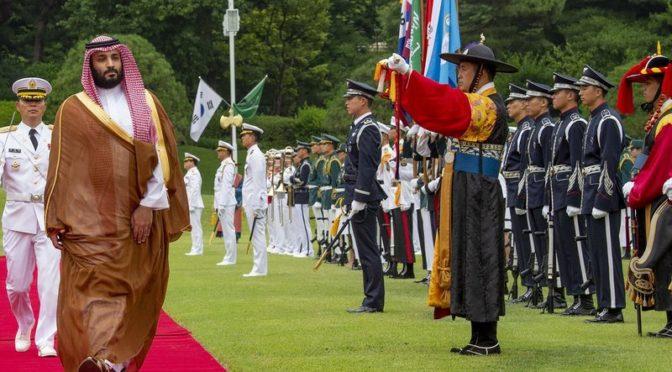 Незапланированно и в течении 50 минут: подробности встречи наследного принца и лидеров крупнейших корейских промышленных групп